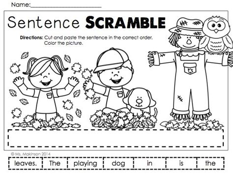 all worksheets 187 sentence scramble worksheets for grade 1