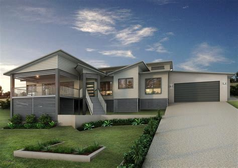 modern home designs plans modern queenslander house plans escortsea