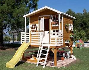 Jeux Exterieur Bois Enfant : cabane de jardin enfant en 50 projets faire soi m me ~ Premium-room.com Idées de Décoration