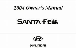 2004 Hyundai Santa Fe Owners Manual
