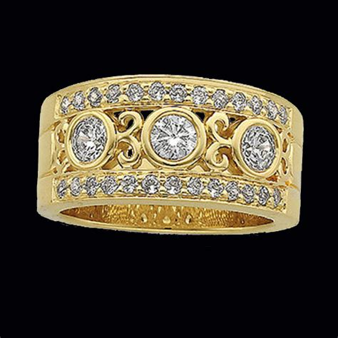 etruscan inspired anniversary ring