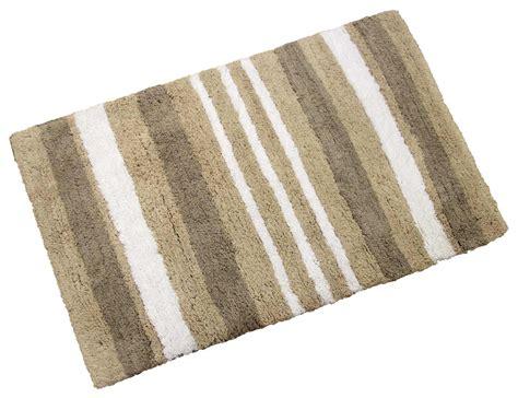 Cotton Doormat - danbury luxury 100 cotton bath mat striped shower