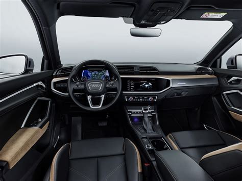 audi q3 2019 2019 audi q3 revealed new small luxury suv grows and