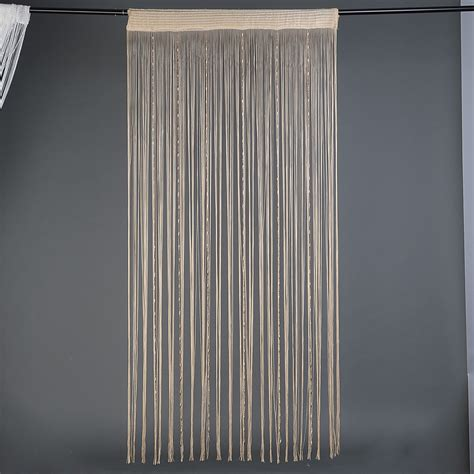 Beaded Curtains For Doorways Ebay by 1 X Chain Beaded String Door Window Curtain Panel Tassel