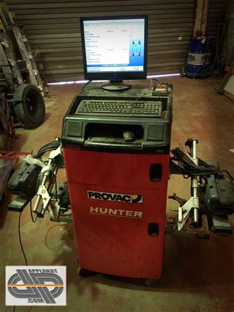 Banc de géometrie PROVAC Hunter PA100 Pro Align occasion nous consulter