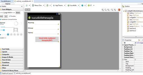 Mathceil Float Java by Android V 252 Cut Kitle Endeksi Hesaplama