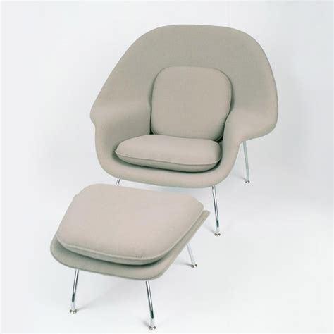 saarinen womb chair and ottoman knoll