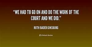 Ruth Bader Ginsburg Quotes QuotesGram