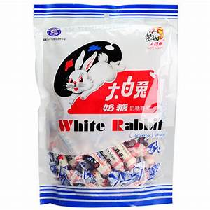 Chinese famous White Rabbit Creamy Milk Candy ( wrapped by ...