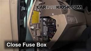 Interior Fuse Box Location  2005