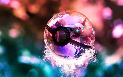 Pokeball Ball Wallpapers Pokemon Clear Cool Backgrounds