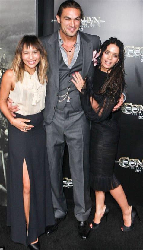 Jason Momoa Lisa Bonet And Zoe One Love Pinterest