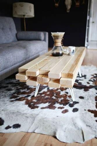 comment fabriquer une table basse en bois soi m 234 me