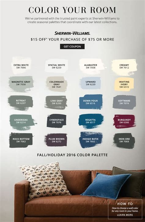 color  room pottery barn sherwin williams living