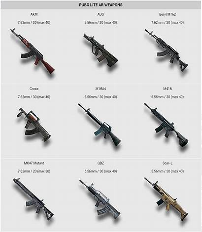 Pubg Weapons Lite Ar