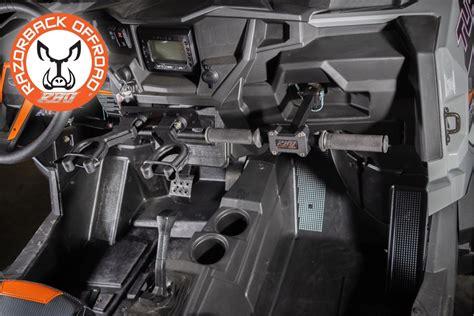 razorback offroad ultimate gun rackgrab handlelug wrench polaris rzr xp  utv canada