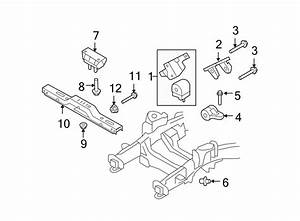 Ford Expedition Transmission  Mount  Insulator  Assembly