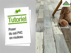 Sol Souple Pvc : poser un sol pvc en rouleaux ~ Melissatoandfro.com Idées de Décoration
