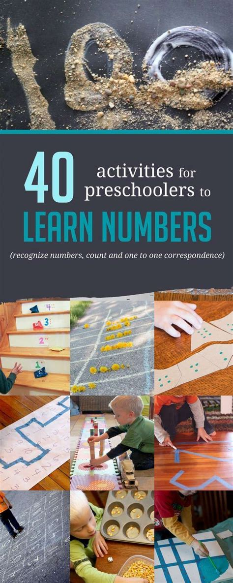 40+ Awesome Number Activities for Preschoolers | Number ...