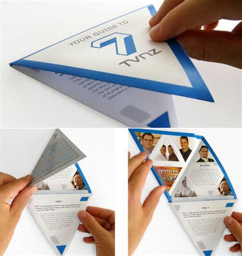 Unique Brochure Designs by 55 Best Exles Of Creative Brochure Designs For