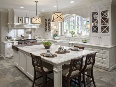 eat in kitchen islands 30 kitchen islands with seating and dining areas digsdigs