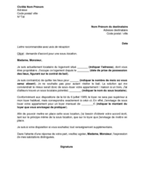 autorisation de si鑒e social exemple lettre logement contrat de travail 2018