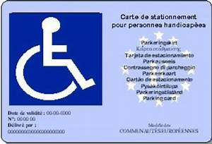 Carte Stationnement Paris : carte europ enne de stationnement personnes g es clic noroit montgermont codem crno ~ Maxctalentgroup.com Avis de Voitures