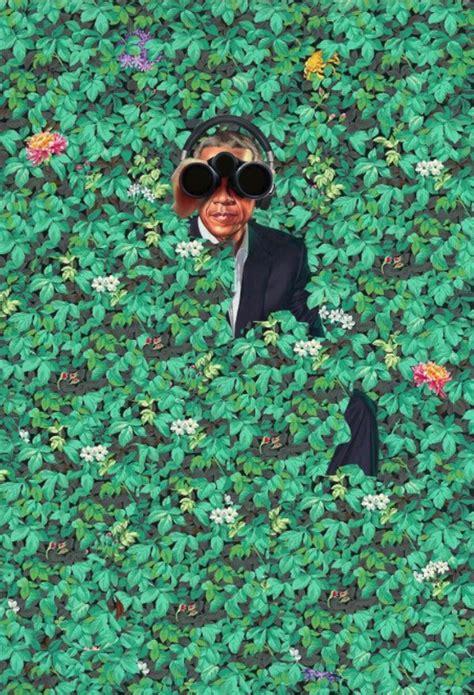 Obama Portrait Memes - americans mock obama portrait with side splitting memes