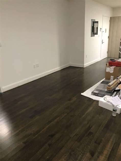 minawax stain floors  ebony  classic grey satin