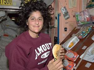 NASA - Astronaut Suni Williams Enjoys a Snack