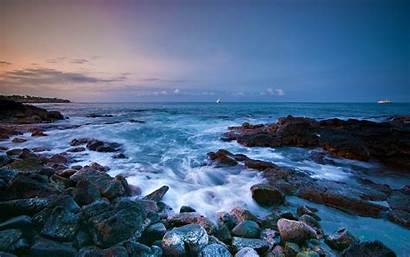 Ocean Wallpapers Wave Beach Waves Rocks Desktop