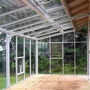 Glass Greenhouse Kit Lean