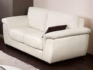 Canape 100 cuir luxecuir de vachette 5 coloris salerne for Tapis de marche avec entretien canapé cuir blanc