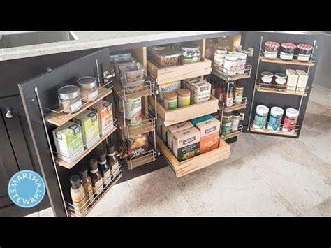 martha stewarts tips  easy kitchen organizing