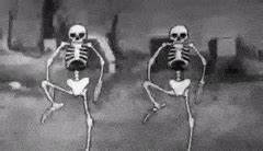 spooky scary skeletons GIFs Search | Find, Make & Share ...