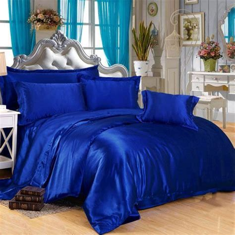 Royal Blue Coverlet by Royal Blue Silk Duvet Cover Luxury Bedding Sets Royal