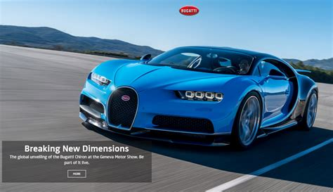 What Company Made Bugatti by 2 6 Million Bugatti Chiron Is The Fastest Car In The