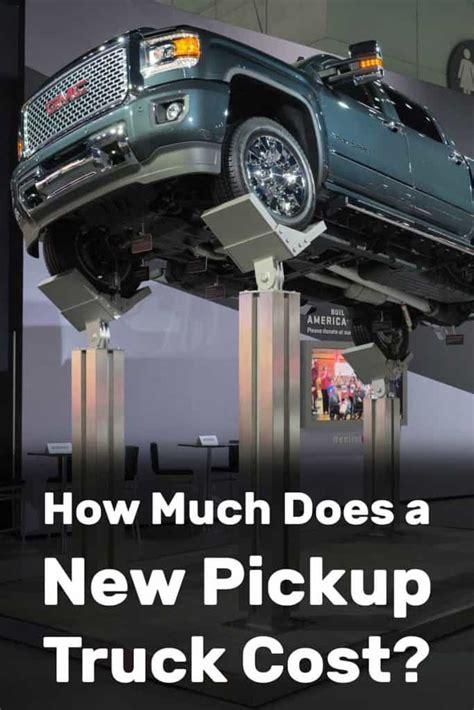 pickup truck cost vehicle hq