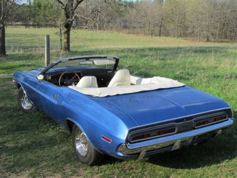 1971 Dodge Challenger (b5 Blue/white
