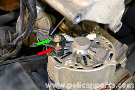 mercedes benz  alternator replacement