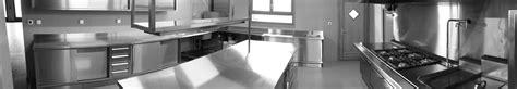 une hotte de cuisine cuisine professionnelle bec inox