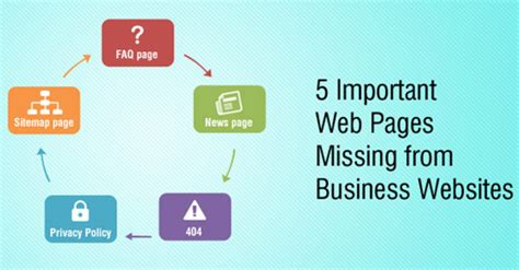 5 important web pages missing from business websites dharne and co