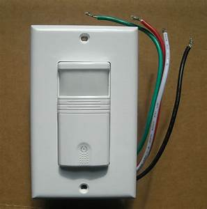 3 Way Occupancy    Vacancy Wall Motion Sensor Detector 120v