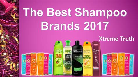 The Best Shampoo Brands 2017health & Beauty Brands  Youtube