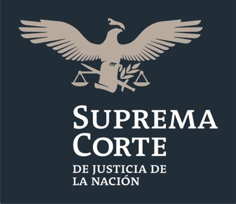Resultado de imagen de logo de la suprema corte de justicia de la nacion mexico