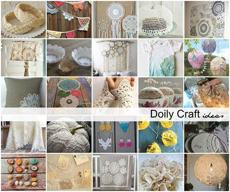 diy doily craft ideas  idea room