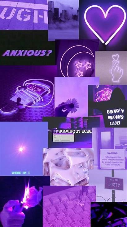 Aesthetic Purple Pastel Wallpapers Dark Hintergrund Iphone