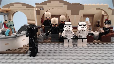 Star Wars Unhappy Hour A Lego Stop Motion Short Film