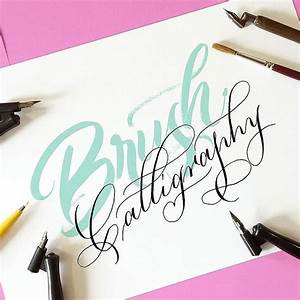 1000 ideas about brush pen on pinterest tombow dual With brush lettering supplies