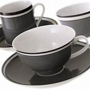 Weisses Porzellan Geschirr : reichenbach colour sylt grau porzellan bei besteckliste ~ Buech-reservation.com Haus und Dekorationen